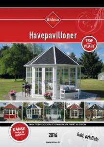 Katalog havepavilloner 2016